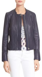 Joie dark navy Leather Jacket