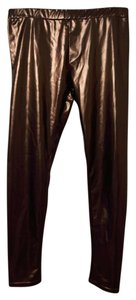 Poof! Apparel Night Out Bronze Leggings