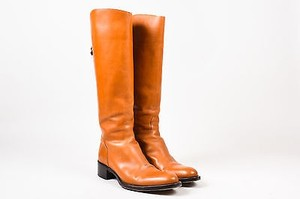 Sartore Tan Leather Almond Brown Boots