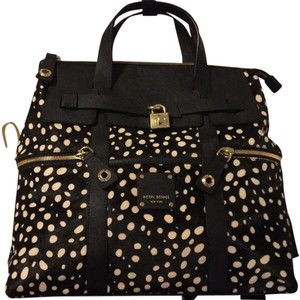 Henri Bendel Black And White Diaper Bag
