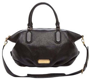 Marc Jacobs Satchel in Black & Gold