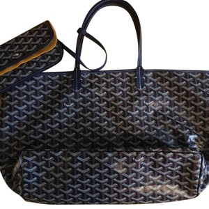 Goyard St. Louis Tote Tote in Navy