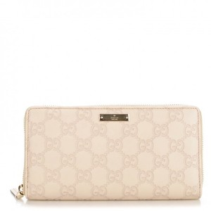 Gucci GUCCI Guccissima Bree Zip Around Wallet