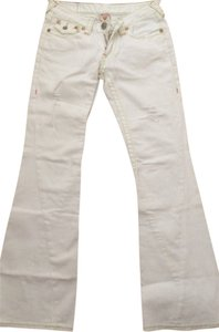 True Religion In Boot Cut Jeans-Light Wash