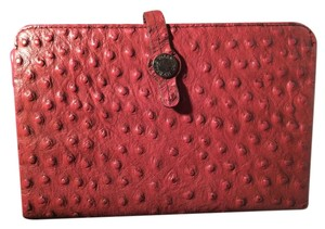 Valentino Michelle Brick Red Ostrich Type