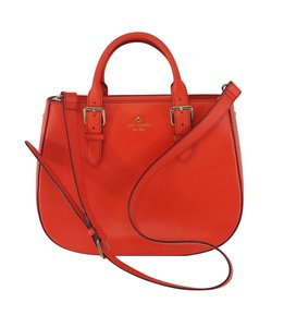 Kate Spade Blood Orange Epileather Shoulder Bag