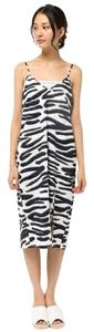 The Fifth Label short dress Zebra Print Open Back Midi Slit on Tradesy