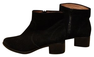 Corso Como Suede Leather Leather Lining Black Boots
