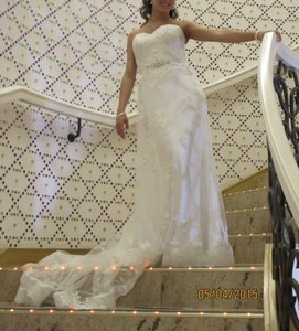Maggie Sottero Memories Wedding Dress