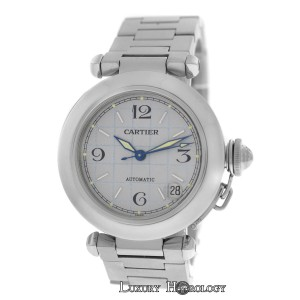 Cartier Midsize Unisex 35MM Cartier Pasha 2324 Stainless Steel Date Automatic