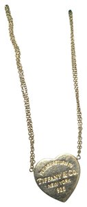 Tiffany & Co. Return To Tiffany Heart Pendant Double Chain Necklace