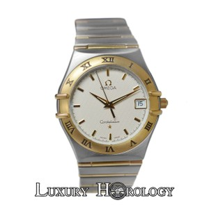 Omega Mint Unisex Omega Constellation Full Bar 18K Yellow Gold Date 34MM