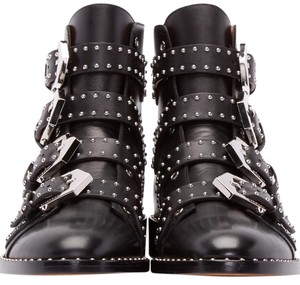Givenchy Studs Leather Boots