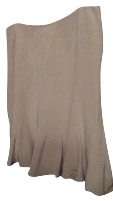 Item - Beige Silk Lined with Flare Skirt Size 10 (M, 31)