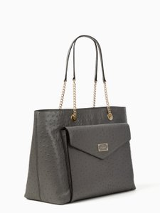 Kate Spade Tote in deep charcoal