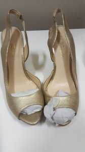 Lulu Townsend Heels D'orsay Gold Formal