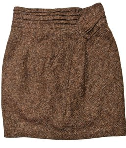 Nanette Lepore Mini Skirt Brown