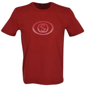Gucci Men's T Shirt Red