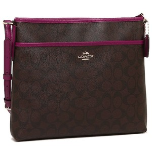 Coach File Signature Cross Body Bag