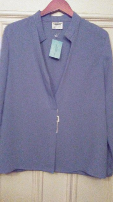 Item - Powder Blue New Studio Made In Italy Blouse Size 10 (M)