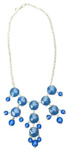 J.Crew JCrew Bubble Necklace - Gold Hardware & Blue Bubbles