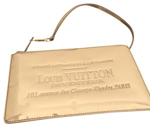 Louis Vuitton Neverfull silver Clutch