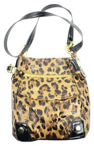 B. Makowsky Cheetah Shoulder Bag