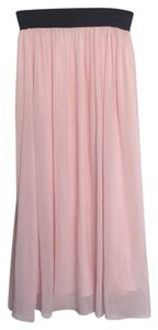 Say What? Maxi Skirt Pink