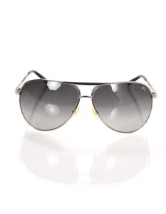 Marc Jacobs Marc Jacobs Silvertone Aviator Sunglasses