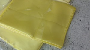 Yellow Satin Table Runners - 10 Count