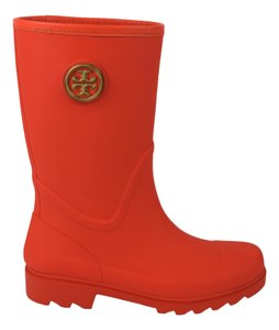 Tory Burch Orange (Poppy Red) Boots