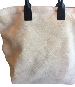 Chanel VERY PALE PINK Beach Bag