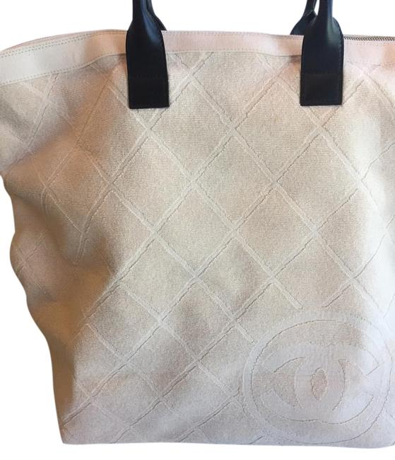 Item - & Accessories Very Pale Pink Terry Cloth Beach Bag