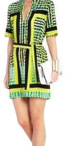 BCBGMAXAZRIA Wrap Bcbg Silk Dress