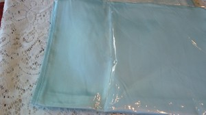Light Blue Satin Table Runners ( 10 Count ) New In Packages