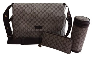 Gucci Bottle Beige/Ebony Diaper Bag