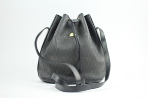 Dior Noe Drawstring Bucket Hobo Shoulder Bag