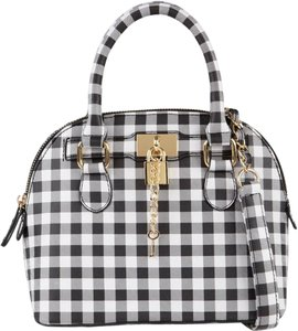 ALDO Satchel in Black / White