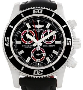 Breitling Breitling Superocean Chronograph Rubber Strap Watch M2000 A73310