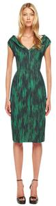 Michael Kors Collection Sheath Print Dress