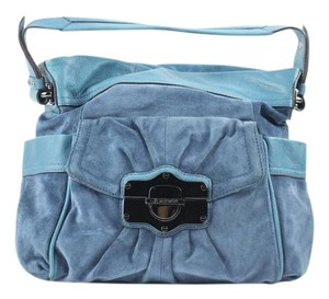 B. Makowsky Satchel in blue