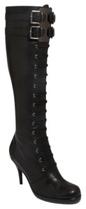 Via Spiga Knee High Black Boots