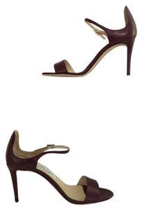 Jimmy Choo Moxy Dark Shiraz Sandals