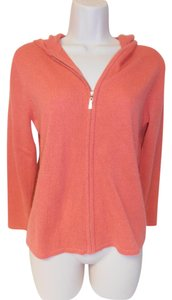 Sutton Cashmere Zip Up Hooded Sweater
