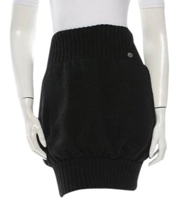 Chanel Fall 2008 Collection Mini Skirt Black