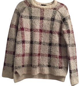 Theory Plaid Fashion Trendy Sweater