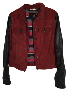 Rag & Bone Suede Red Jacket