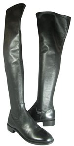 Via Spiga Over The Knee Stretch black Boots