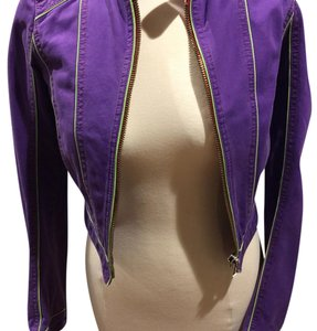 Dsquared2 Purple Womens Jean Jacket