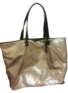 Victoria's Secret Tote in Gold Sequin